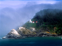 Hecta Head Lighthouse Oregon