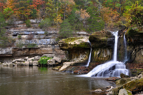 Upper Cataract Falls, Owen County, Indiana
